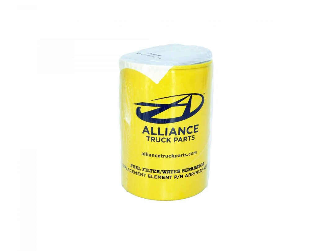 Alliance Primary Fuel Water Separator Filter. 4.4in X 4.3in X 6.5in. Part # ABP N122 R50418 from Tracey Truck Parts