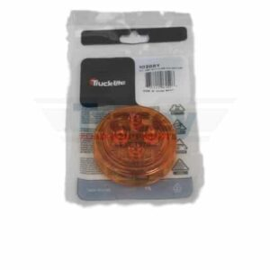 """Truck Lite 2"""" 12v Amber Lamp (LED) Part # TL 10286Y from Tracey Truck Parts 