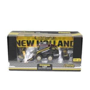 New Holland L220 Model (Cruis'n Limited Edition) 1/32 Scale Die-Cast Metal Replica (Attachements include: Bucket, Snowblower & Broom) Part # T31004   Tracey Truck Parts