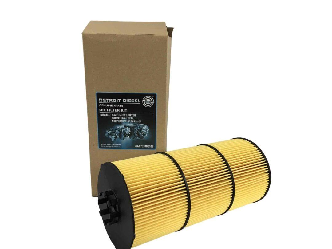 Detroit Diesel Oil Filter Kit Part # DDE A4731800909 from Tracey Truck Parts | Detroit Diesel Truck Parts For Sale Online.