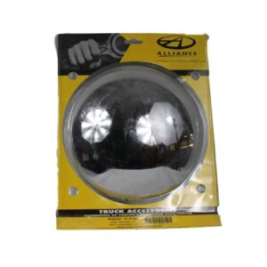 """Alliance Rear Chrome Cap 8-1/2"""" Dia. Part # ACX 43303 from Tracey Truck Parts 