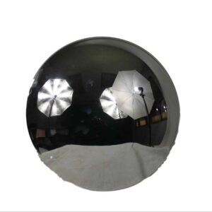 Alliance Chrome Hubcap (6) Notch Part # ACX 41301 from Tracey Truck Parts   Alliance Truck Parts For Sale Online.