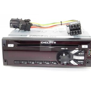Delphi AM/FM/CD/WB Radio, Wiring Harness Included. Part # PSO PP1057131A From Tracey Truck Parts Online Store.