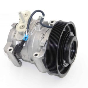 Denso AC Compressor, Model Fits: 2015 Freightliner Cascadia, 12V. Part # 22-75520-000 From Tracey Truck Parts.