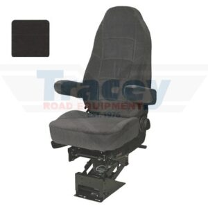 Gray Cloth Heritage Air Ride Seat Part # 189800KA25 from Tracey Truck Parts | Seats Inc. Truck Seats For Sale Online.