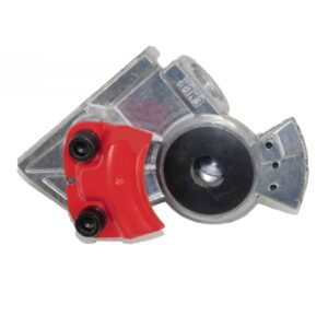 TTP Meritor 3/8 Angled Emergency Gladhand Red | # TTP TDA R11445 | Tracey Road Equipment Online Parts Store
