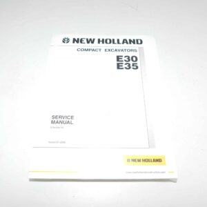 New Holland E30/E35 Service Manual. Part # NH87360586NA From Tracey Truck Parts, New Holland Truck Parts For Sale Online.