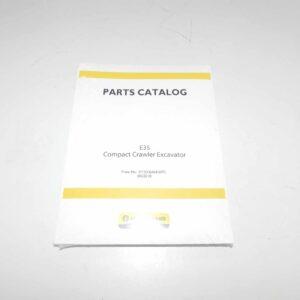 New Holland E35SR Parts Catalog Part # NH87360686NA