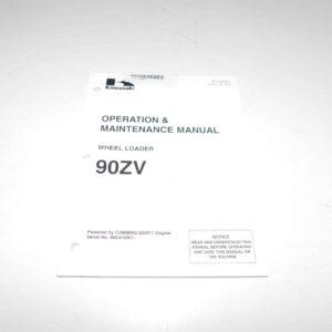Kawasaki 90ZV Operation & Maintenance Manual Part # KA9311300253