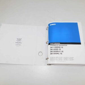 Kobelco SK115SR/SK135SR Service Manual. Part # NHS5YY0005E-00NA From Tracey Truck Parts, Kobelco Parts For Sale Online.