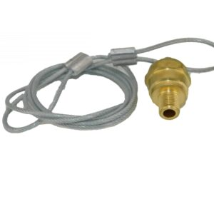 Drain Valve w/Cable | Part # TTP TDA R5512104| Tracey Truck Parts