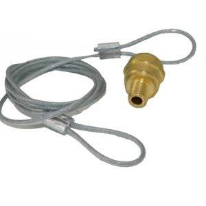 Drain Valve w/Cable | Part # TTP TDA R5512105| Tracey Truck Parts
