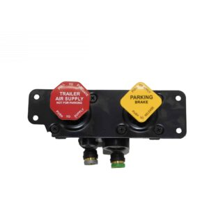 """Dash Control Valve Mounting Holes: 1/4"""" Unthreaded Multiple Freightliner Applications 