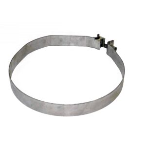 Alliance Muffler Mounting Band Clamp. Replaces: Freightliner Part # 04-18866-000, etc. Part # ABP N35 04 18866 000 From Tracey Truck Parts