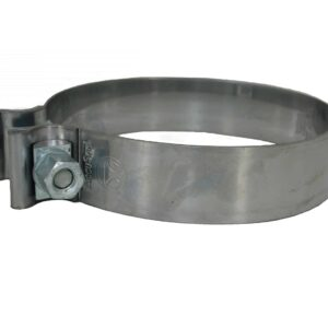 Alliance Exhaust Band Clamp, 5 Inch Bright SST. Replaces: 10-0846-AM, etc. Part #ABP N35 100846AM from Tracey Truck Parts.