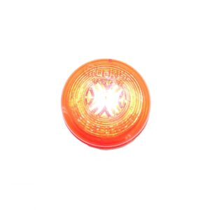 Truck Lite 30 Series, Incandescent, Red Round, 1 Bulb M, Marker Clearance Light. Part # TL 30204R Tracey Truck Parts.