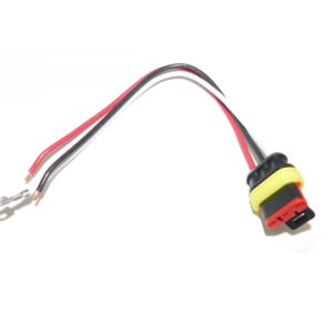 Truck Lite Turn Signal Electrical Plug. Stop/Turn/Tail Plug Electrical Kit. Part # TL 94707 from Tracey Truck Parts.