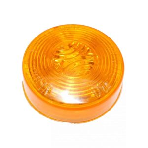 Truck Lite Signal Stat LED, Yellow Beehive, 13 Diode Marker Clearance Light. Part # VSI 1035A from Tracey Truck Parts.