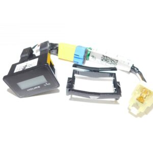 Kobelco Hour Meter KitHour Meter Kit, Includes Hour meter and Harness. Compatible with Kobelco ED150-2,ED160,SK210-9 ,SK295.9 ,SK485LC-9 , SK350-9 ,SK210-9 , SK170-9 ,78SR ,230SR-3,140SR-3, 260SR-3.Part # YN58S00012P1 form Tracey Truck Parts.
