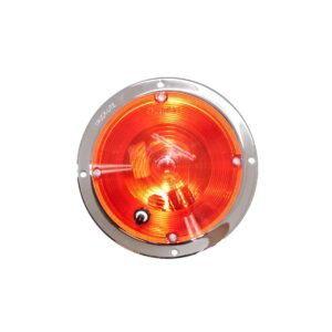 Truck Lite Dome Lamp With Red Lens. Part # TL 79358R from Tracey Truck Parts.