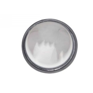 """Alliance 8 1/2"""" Wide Angle Convex Mirror - Crosses From GRO 12272 5, SPN 585, Etc. Part # ABP N74B 10891 From Tracey Truck Parts."""