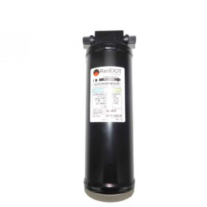 Alliance Receiver Drier, Used in Columbia and Western Star. Same As N83319534, N83319544, Etc. Part # ABP N83 319584 From Tracey Truck Parts