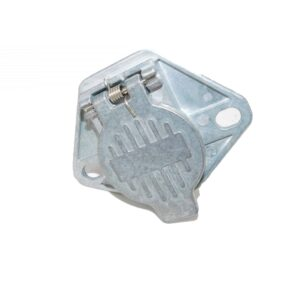 Alliance Socket, 7-Pin, Solid Pin, 2-Hole MountPart # ABP N54A SF7WSSAE from Tracey Truck Parts