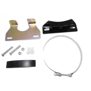 Bendix AD-9 Bracket KitKit Consists of 2x Drier Brackets, 4 Washers, Two Mounting Bolts/Nuts, and One Mounting ClampParts # BW 5009610