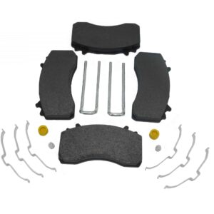 Alliance Air Disc Brake Pad Kit.Freightliner; Replaces: MKD2061, 6403229342, etc. Part # ABP 42A 9294 D2061 From Tracey Truck Parts